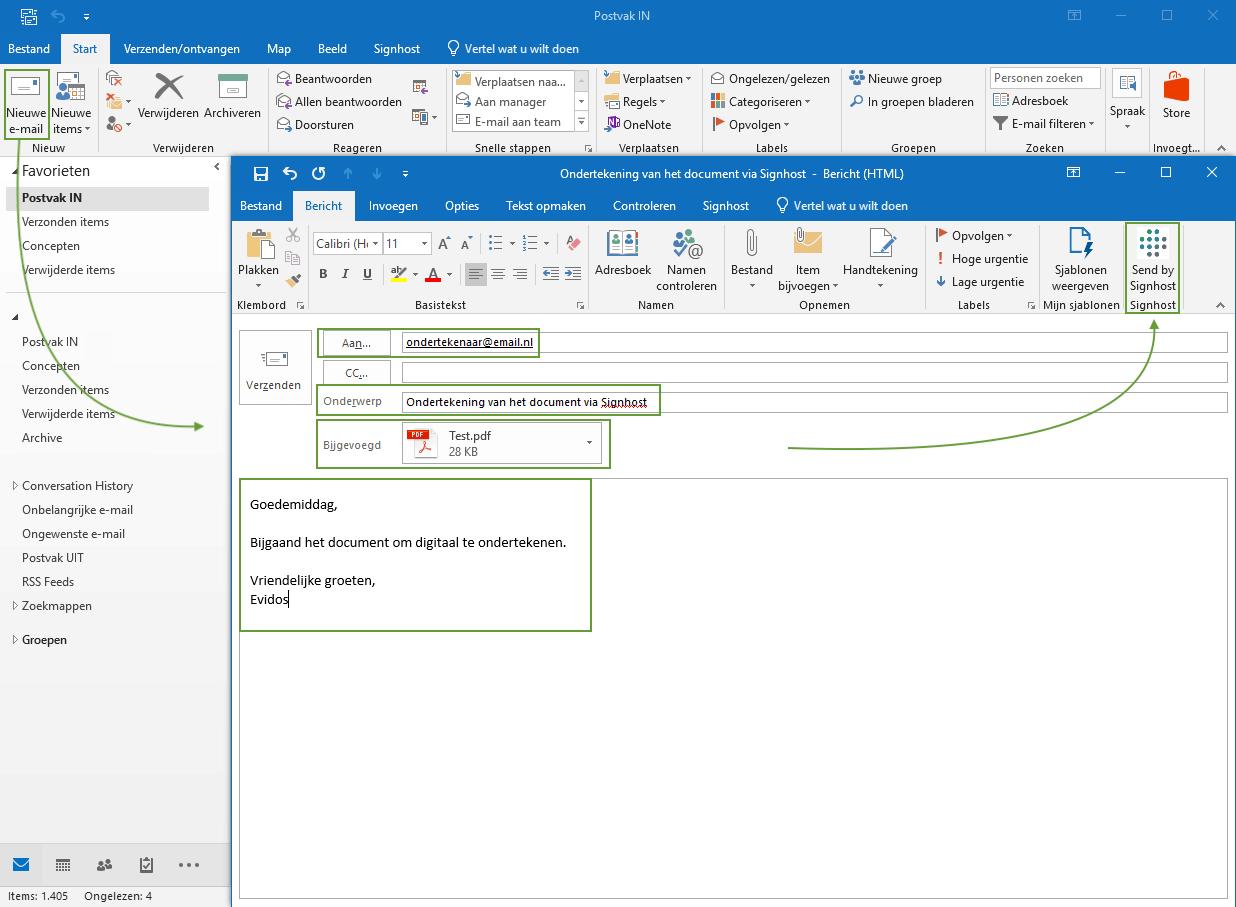 voorbeeld mail