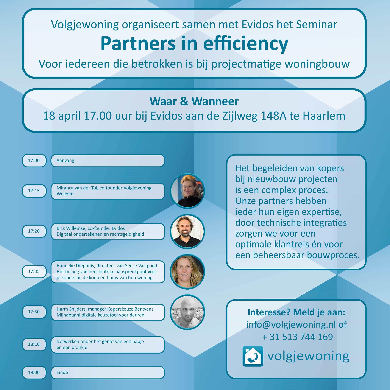 Partners in efficiency