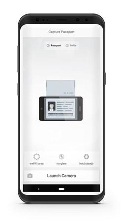 Paspoort scan